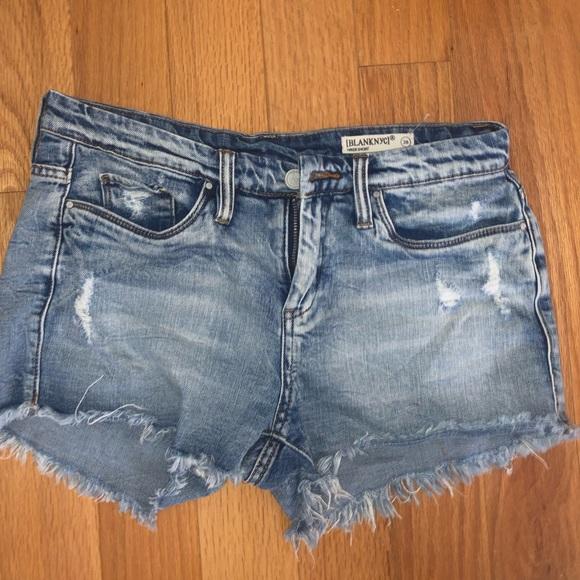 Blank NYC Pants - DENIM SHORTS